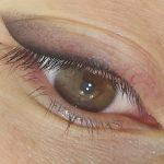 Татуаж глаз с растушевкой